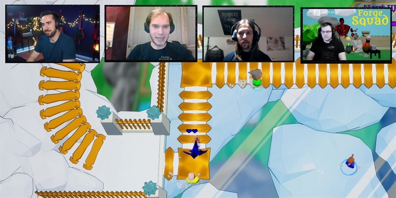 Twitch Highlights: Indie Developer Interviews – Forge Squad