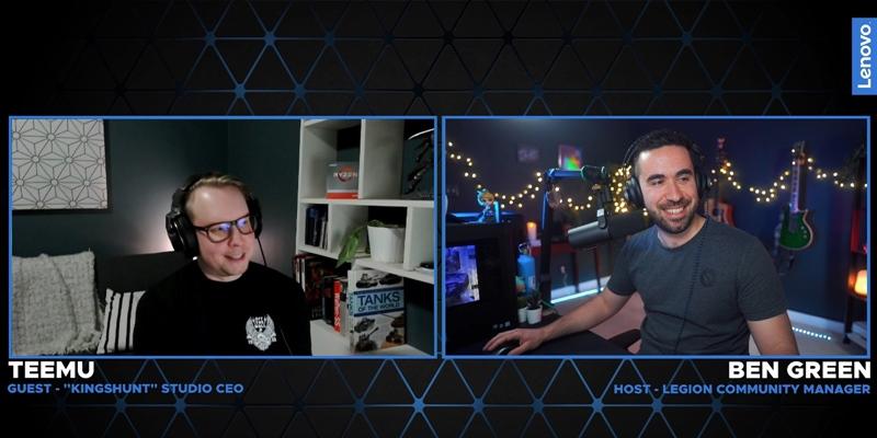 Twitch Highlights: Indie Developer Interviews – Kingshunt