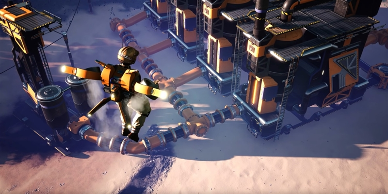 Satisfactory Update 4 Brings New Late-Game Products, Hover Packs, and More