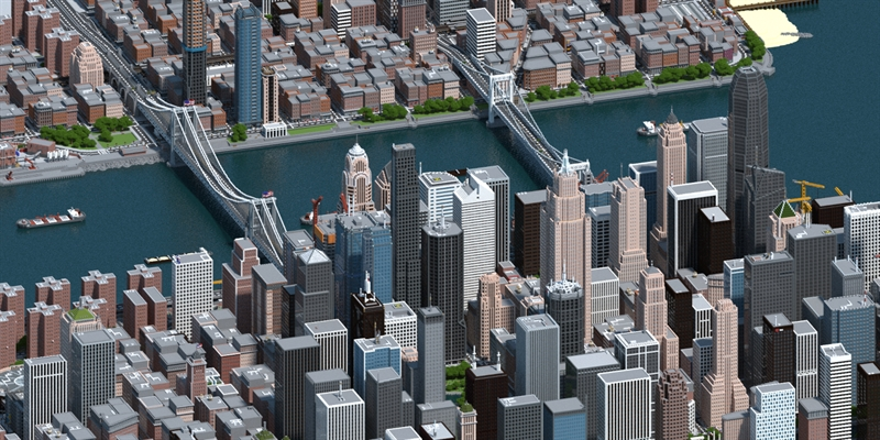 A Minecraft Player Has Spent 3 Years Creating a Fake US City