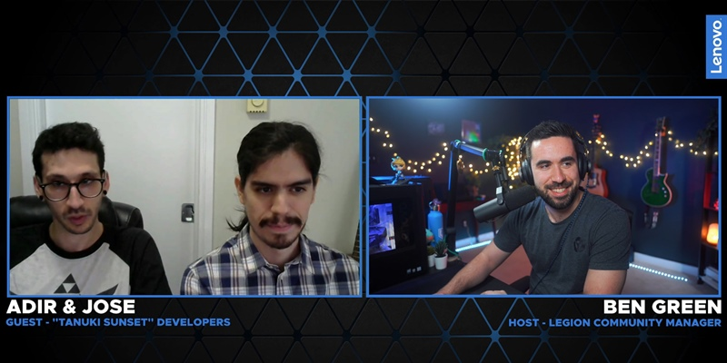 Twitch Highlights: Indie Developer Interviews – Tanuki Sunset